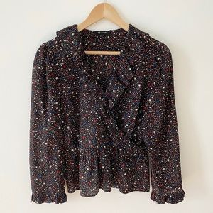 Madewell Silk Star Top